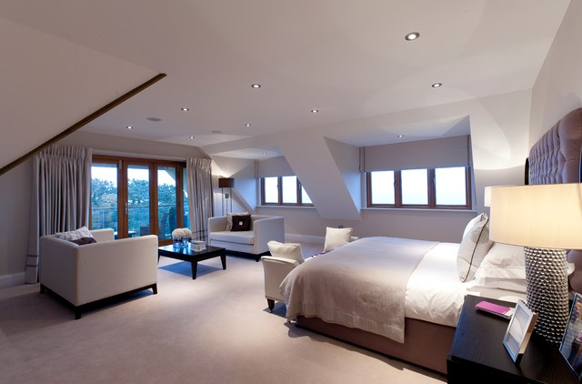 Frenchmans Creek Stoke Fleming Contemporary Bedroom