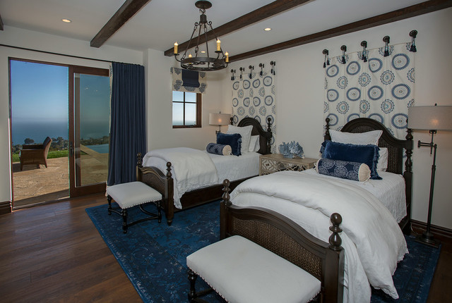 Fresh contemporary spanish colonial for Modern mediterranean bedroom