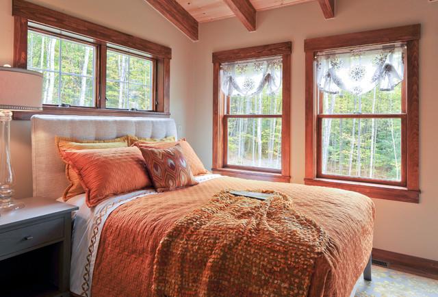 Fresh take on farmhouse design farmhouse-bedroom