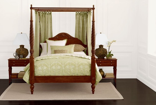 Southeast florida tropical bedroom other by ethan for Tropical bedroom furniture