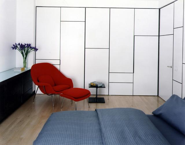 Freund Apartment contemporary-bedroom