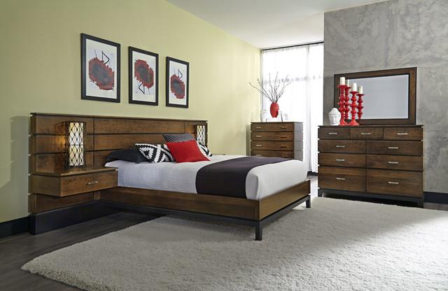 frisco bedroom set modern bedroom