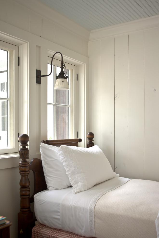 Example of a farmhouse bedroom design in Atlanta