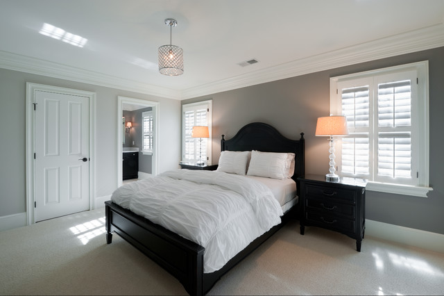 Full Home Remodel Fifty Shades Of Gray Eclectic Bedroom Charlotte By Andrew Roby