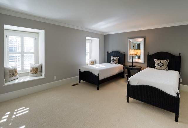 full home remodel fifty shades of gray eclectic bedroom
