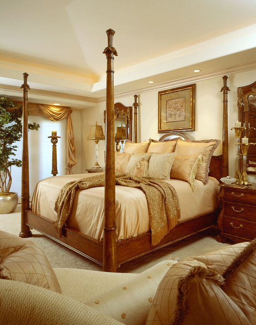 Full house design traditional-bedroom