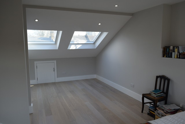 Full Width Dormer Conversion Into Bedroom Bathroom Closet Camberwell Se5 Victorian
