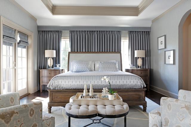 Fuller Road transitional-bedroom
