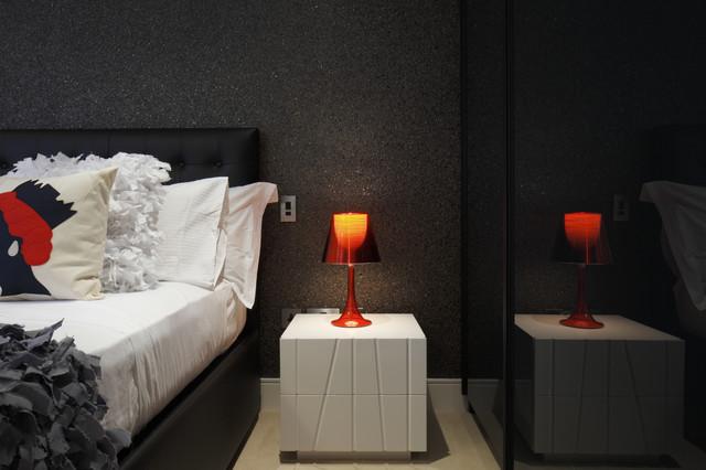 Funky modern bedroom modern bedroom london by for Funky bedroom designs