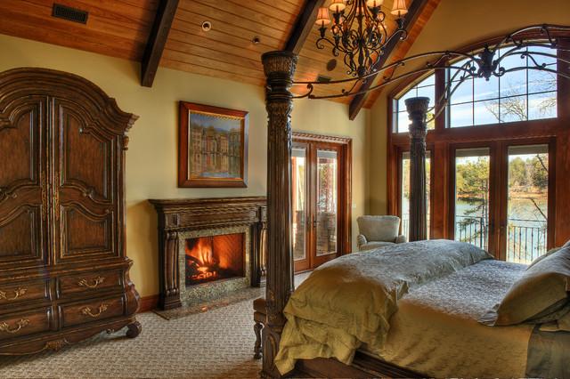 Gabriel Builders rustic-bedroom