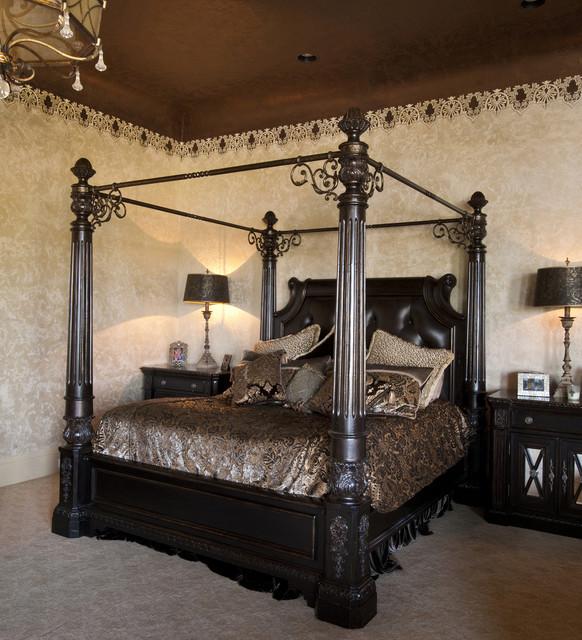 Gaillardia show home traditional-bedroom