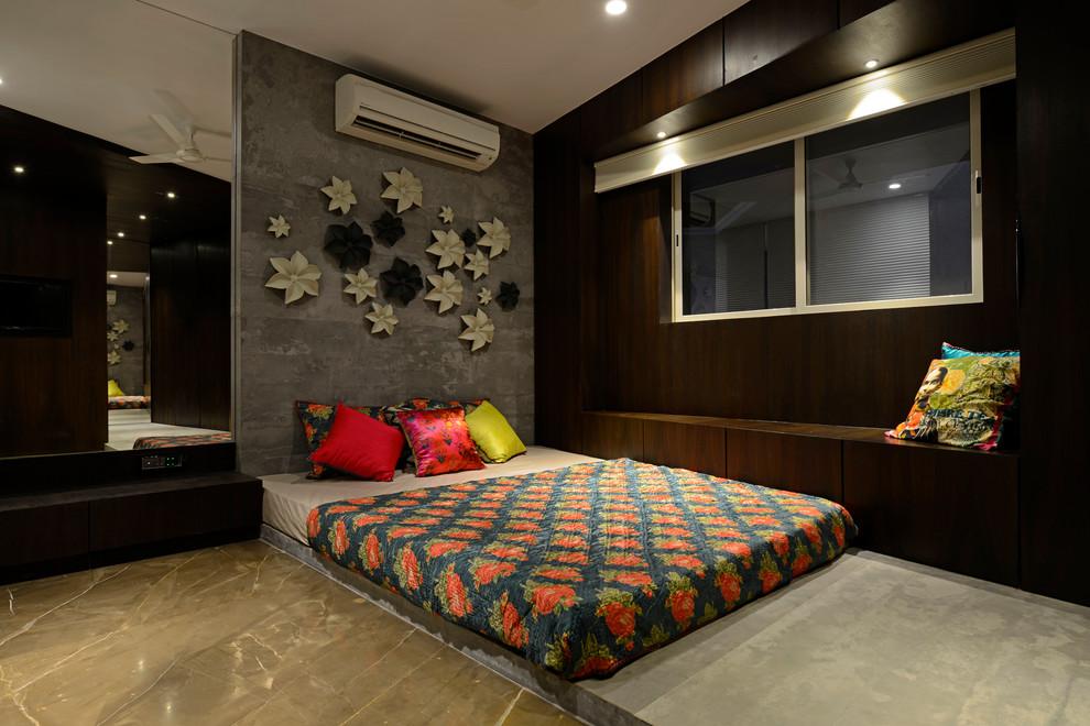 Galani Nasik By Studio5 Contemporary Bedroom Mumbai By Prashant Bhat Photography