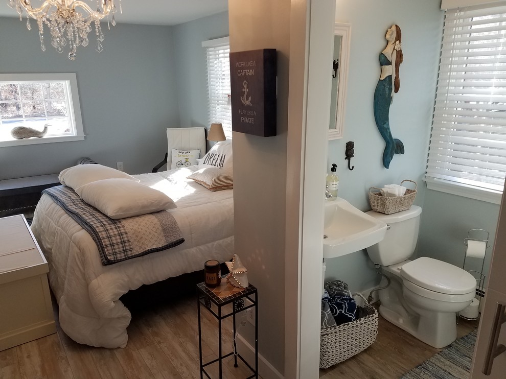 Garage Conversion To A Master Bed Bath Suite With Private