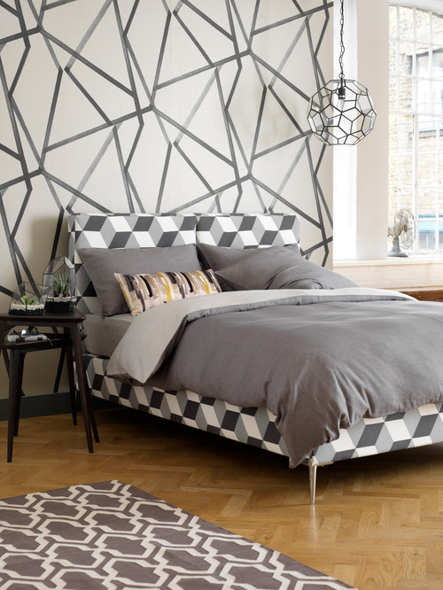 Geometric and Monochrome - Campion Bedstead