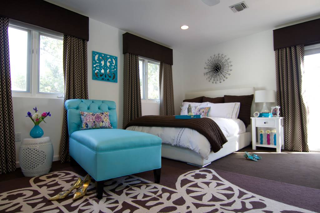 Chocolate Brown And Turquoise Ideas & Photos | Houzz