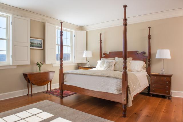 Georgian Colonial Traditional Bedroom