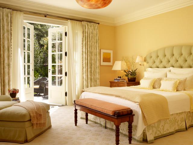 Bedroom With French Doors | Houzz