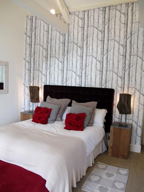 Georgian country house transitional bedroom devon for Georgian bedroom ideas