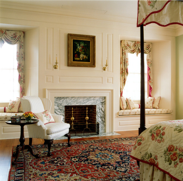 Georgian Manor Traditional Bedroom Dc Metro By