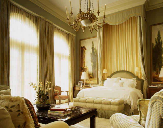 Georgian residence traditional bedroom san francisco for Bedroom designs classic