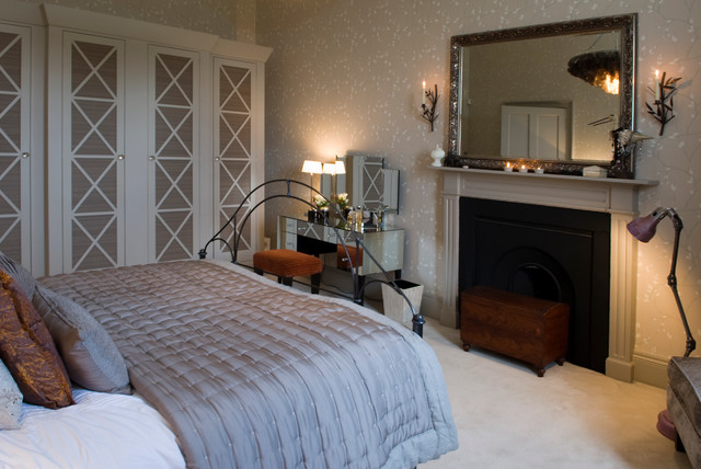 Georgian Town House Contemporary Bedroom Other By