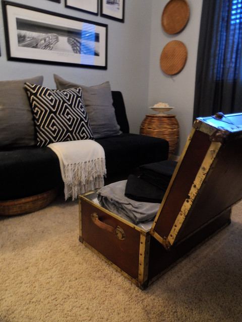 Getting a Guest Room Ready On a Budget contemporary-bedroom