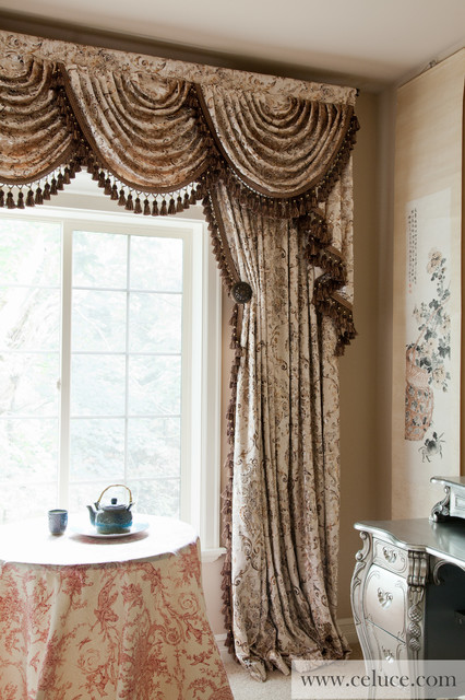 gilded vine cascade valances window treatment. Window Valances For Bedrooms  Soft Draped Valance Over Vertical