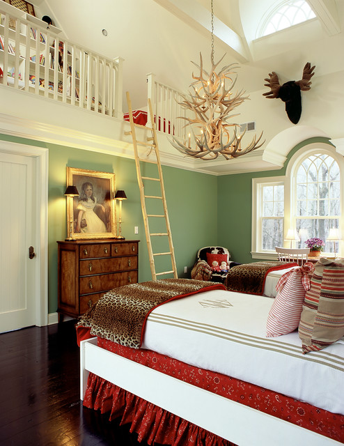 girl 39 s bedroom and play loft