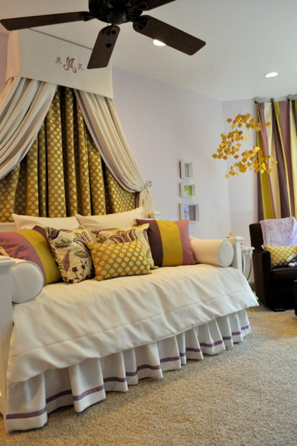 Girls Room by Paige Merchant Designs  bedroom