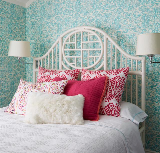 Girls Bedroom nyklassisk-sovrum