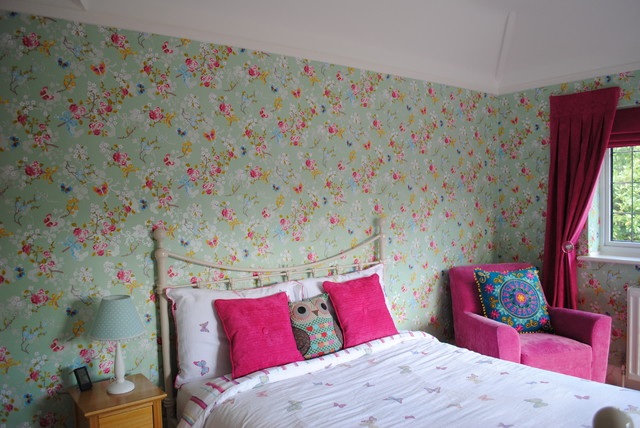 girls bedroom shabby chic style bedroom hertfordshire by sai