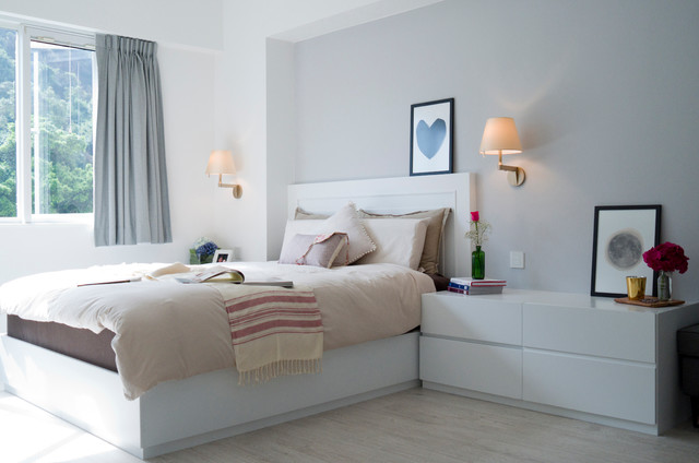 GISELLE modern bedroom. GISELLE   Modern   Bedroom   Hong Kong   by hoo Interior Design