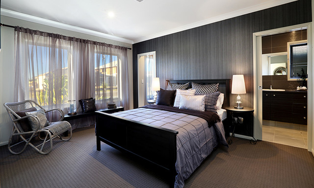 GJ Gardner Display Home Caboolture Contemporary Bedroom