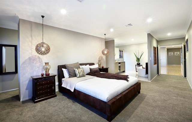 Gj Gardner Display Home North Lakes Contemporary Bedroom Brisbane By Love Ur Space