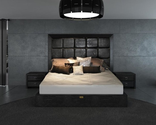 Glam Black - Armani Xavira Collection Bed - Features