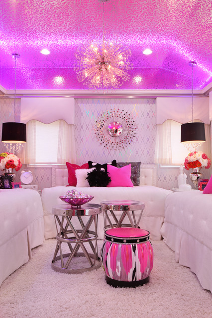 glam dance studio - Contemporary - Bedroom - Los Angeles - by Frank ...
