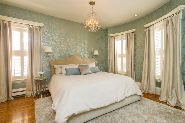 Glamorous 1920 39 s hollywood bedroom traditional bedroom for Hollywood bedroom designs