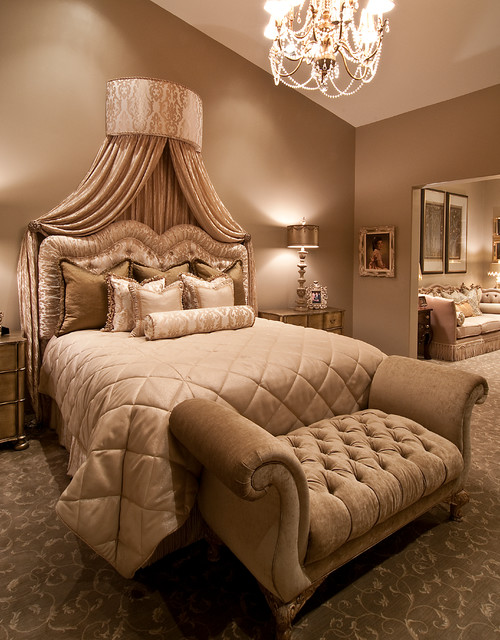 Glamorous bedroom redo for Decor glamour