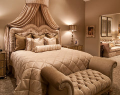 Glamorous Bedroom Redo traditional-bedroom
