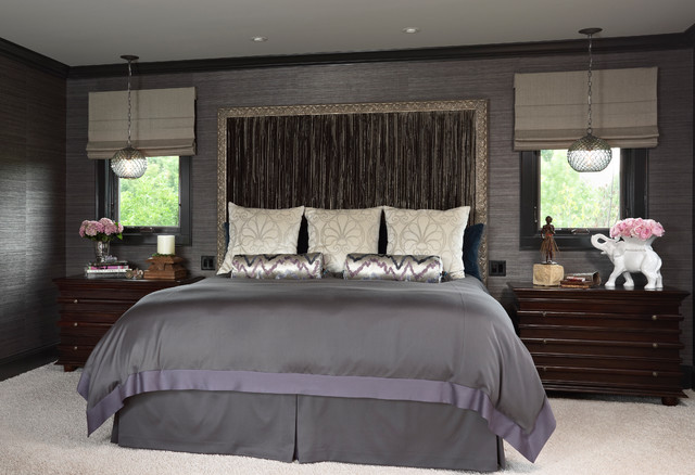 Glamorous boudoir contemporary bedroom minneapolis for Boudoir bedroom ideas