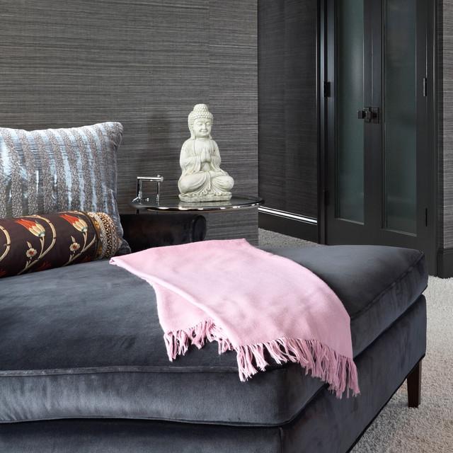 glamorous boudoir contemporary bedroom minneapolis