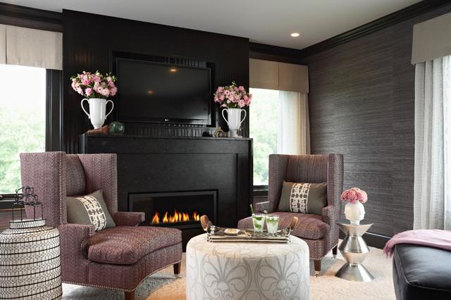 Glamorous Boudoir contemporary-bedroom