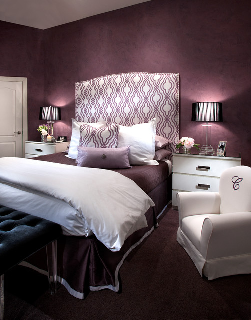 Glamourous Bedroom Contemporary Phoenix By
