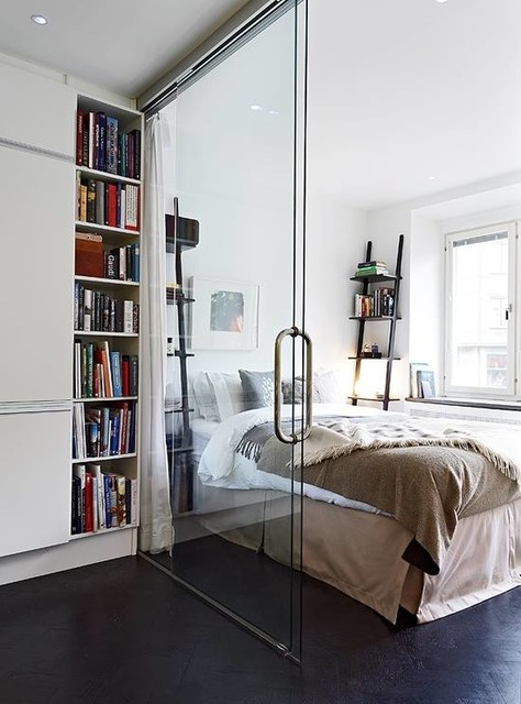 glass room divider transitional bedroom austin by anchor