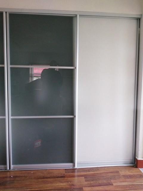 glass sliding doors for luxurious closet in bedroom modern bedroom miami by star doors. Black Bedroom Furniture Sets. Home Design Ideas