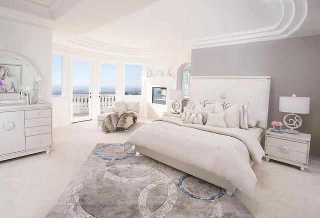 Glimmering Heights Bedroom Set by Michael Amini - Traditional ...