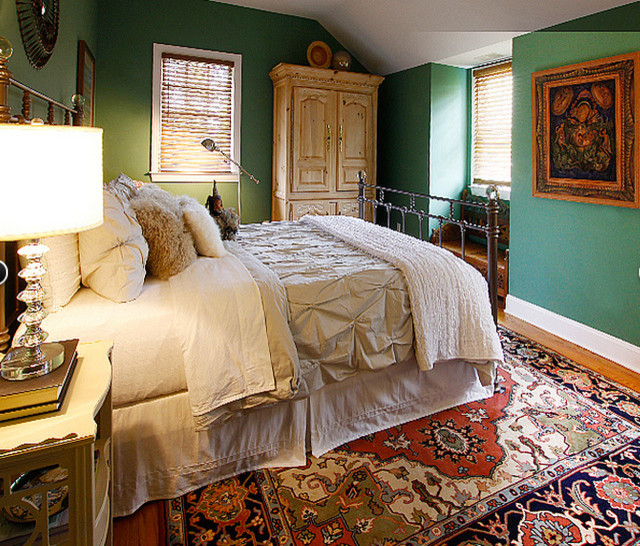 Master bedrooms eclectic bedroom new york by cameo for Eclectic master bedroom ideas