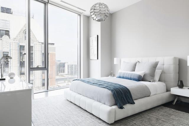 Gold Coast Makeover Contemporary Bedroom Chicago By Walter E Stunning Contemporary Bedroom Furniture Chicago