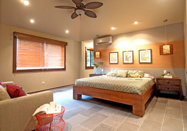 Golf Course Residence contemporary-bedroom