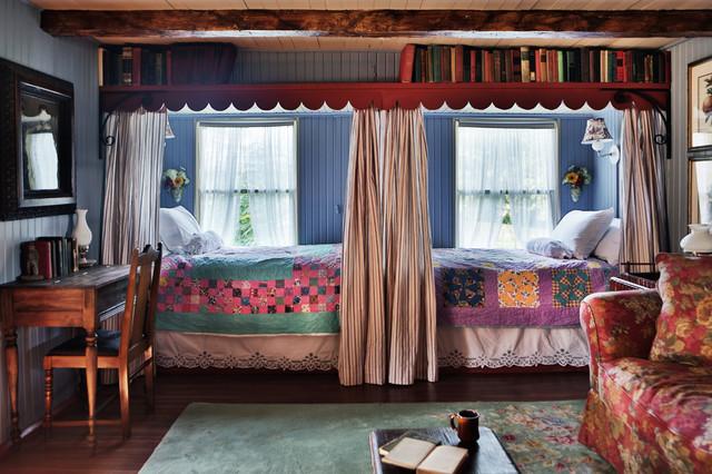 Gosherd valley cottage rehab for Sibling bedroom ideas